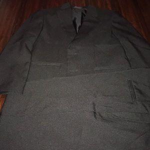Boys 2 piece pinstripe suit